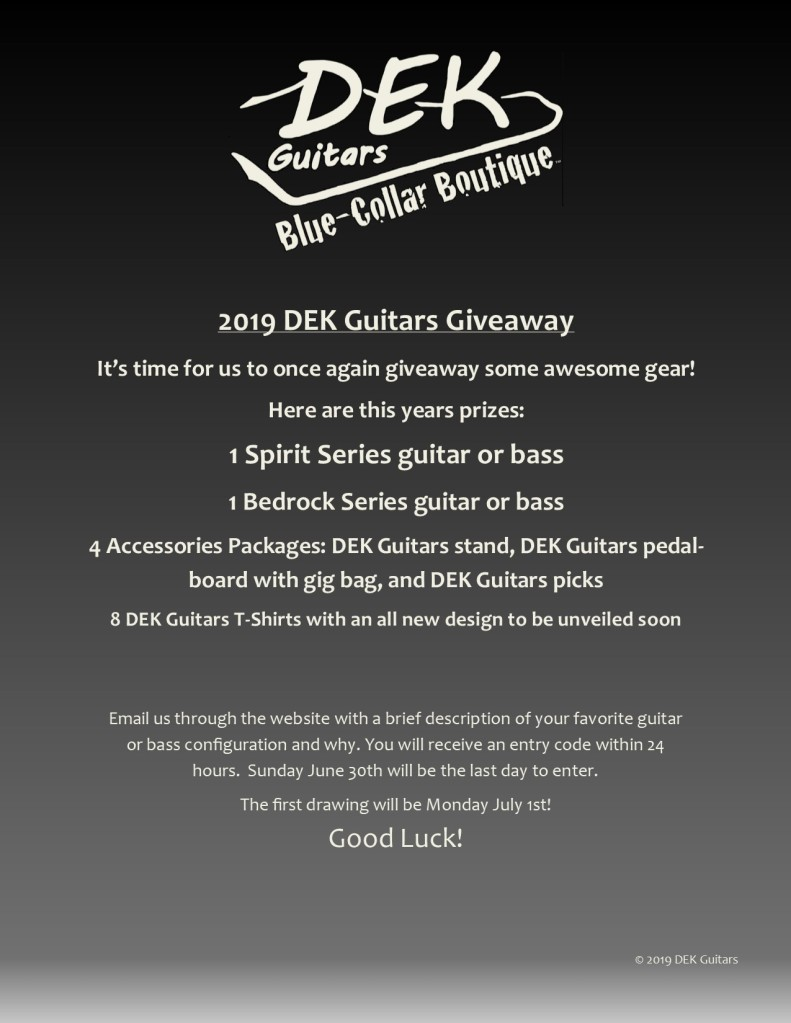 2019 Giveaway!
